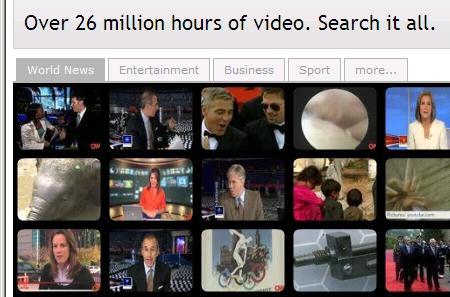 Il piú avanzato motore di Ricerca Video Web al mondo
