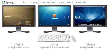 Usa due o piú computer con un solo mouse e tastiera