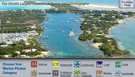 Foto aeree zoomabili di Porti e Marine da tutto il mondo