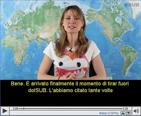 Guarda traduci e diffondi Video sottotitolati in ogni lingua