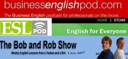 Impara l'Inglese ascoltando i Podcast