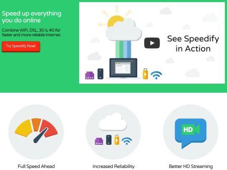 Internet piú veloce e affidabile combinando WiFi, ADSL, 3G e 4G