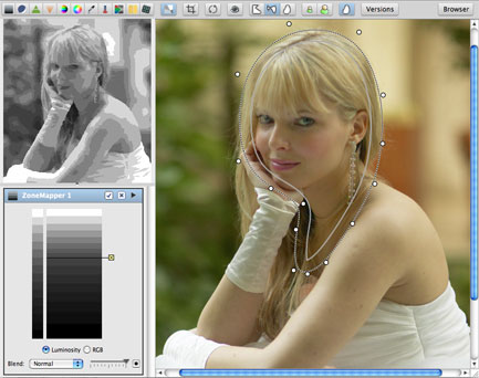 LightZone: Photo Editor Gratuito alternativo a Lightroom
