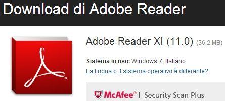 Nuovo Adobe Reader 11: Visualizza, Stampa, Annota PDF