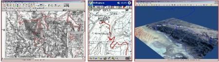 Usa Ozi con qualsiasi cartografia per navigare dovunque