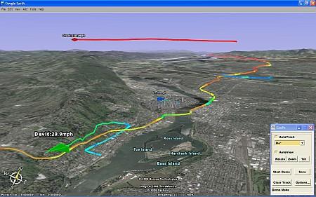 La tua posizione GPS in tempo reale su Google Earth